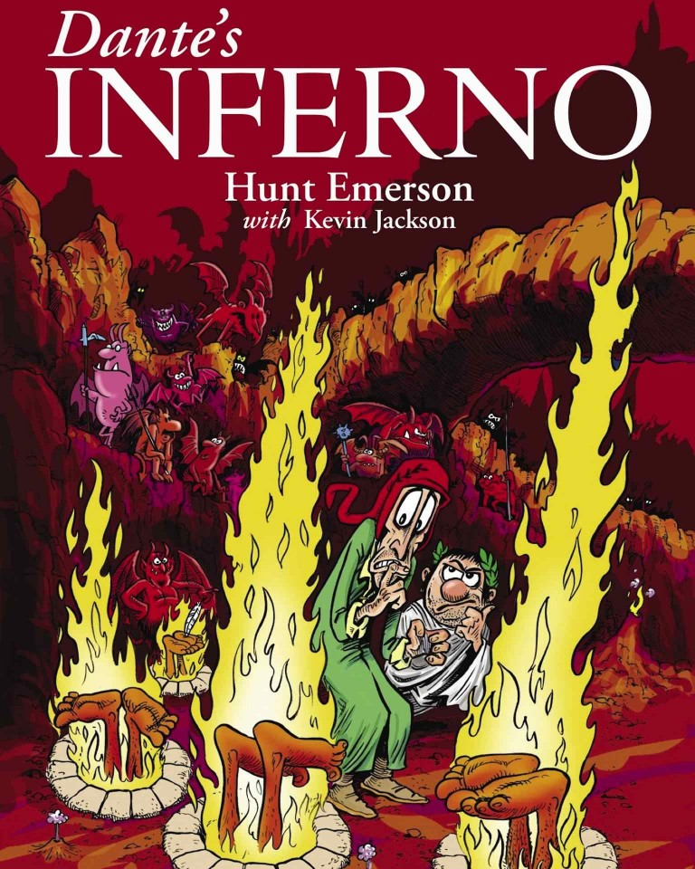Dante S Inferno By Hunt Emerson Digital Comics And Graphic